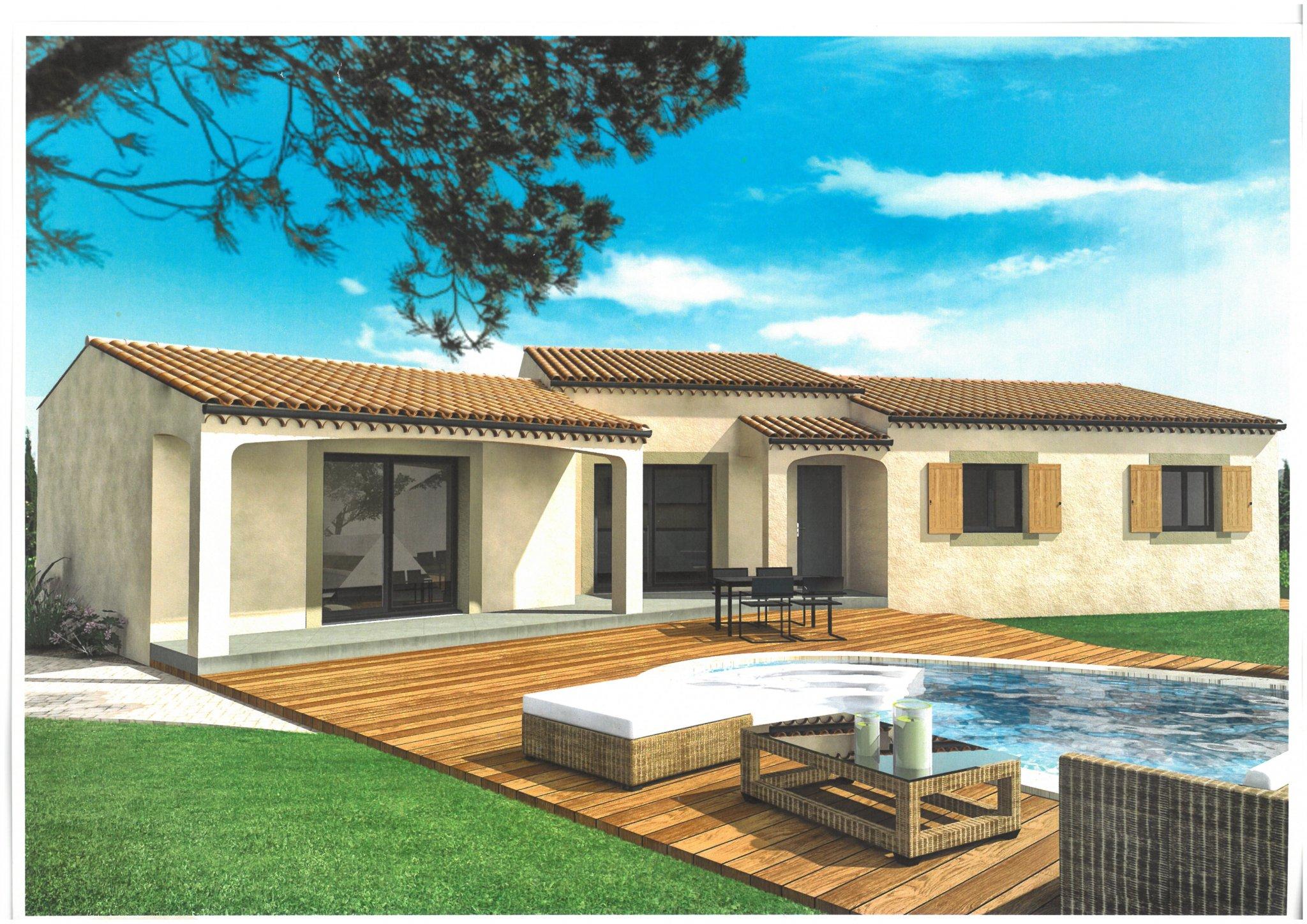 Maisons du constructeur ALPHA VILLAS • 100 m² • CHATEAUNEUF DU PAPE