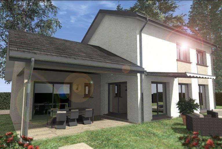 Maisons du constructeur TRADYBEL RHONE • 95 m² • CHAVEYRIAT