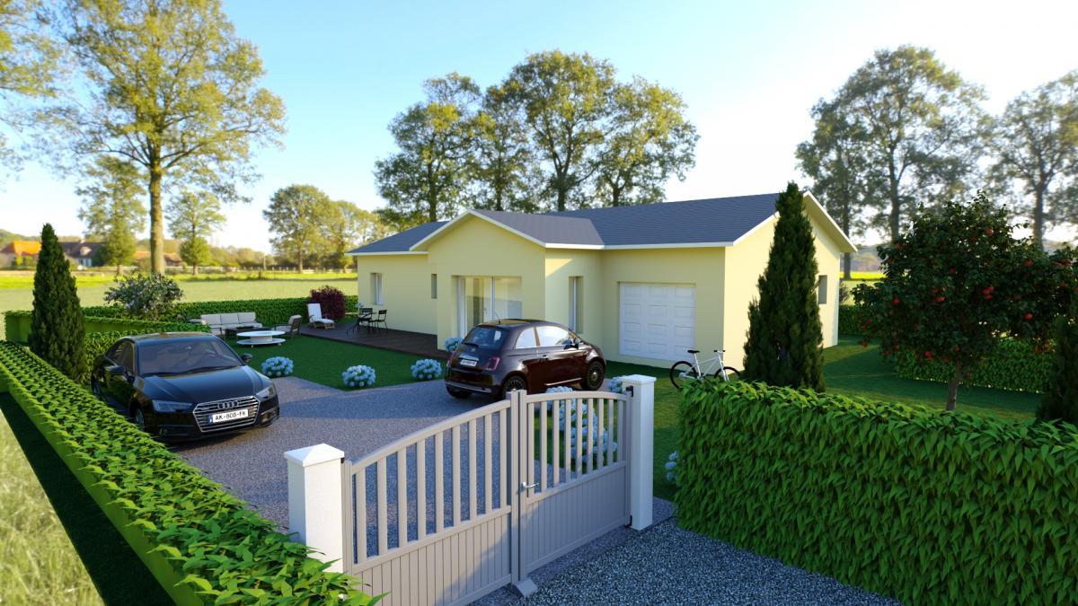 Maisons du constructeur TRADYBEL RHONE • 111 m² • DENICE