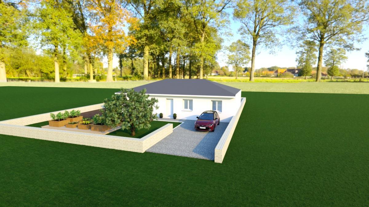 Maisons du constructeur TRADYBEL RHONE • 105 m² • NEUVILLE SUR AIN