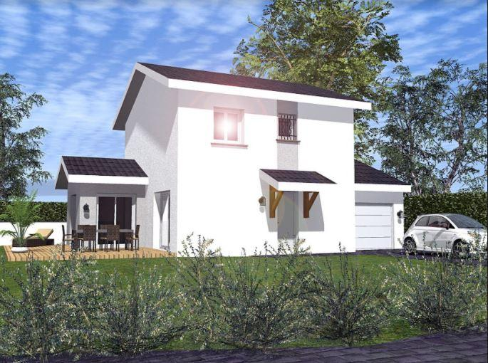 Maisons du constructeur TRADYBEL RHONE • 96 m² • LA BOISSE