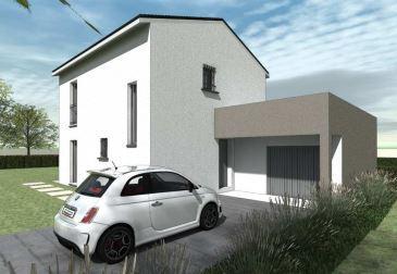 Maisons du constructeur TRADYBEL RHONE • 96 m² • CHALEINS
