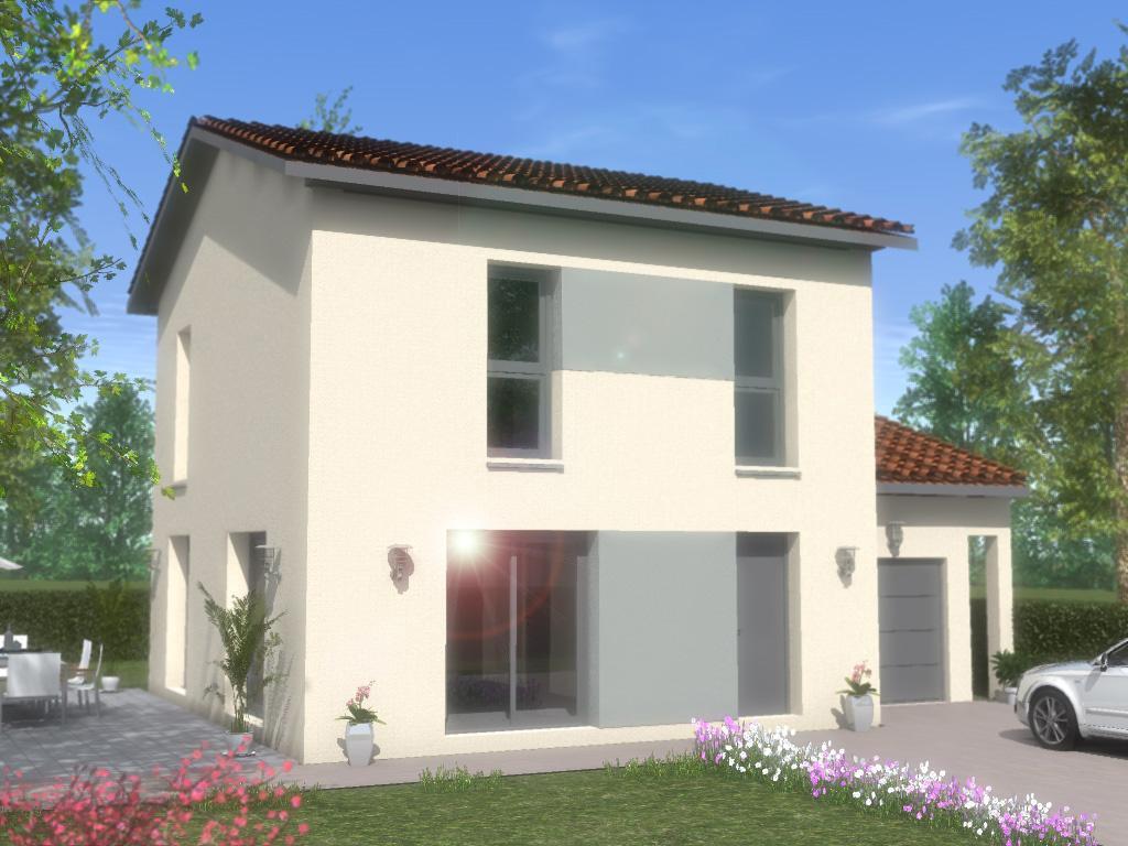 Maisons du constructeur TRADYBEL RHONE • 101 m² • SAINT TRIVIER SUR MOIGNANS