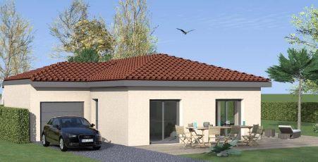 Maisons du constructeur TRADYBEL RHONE • 93 m² • PONT D'AIN