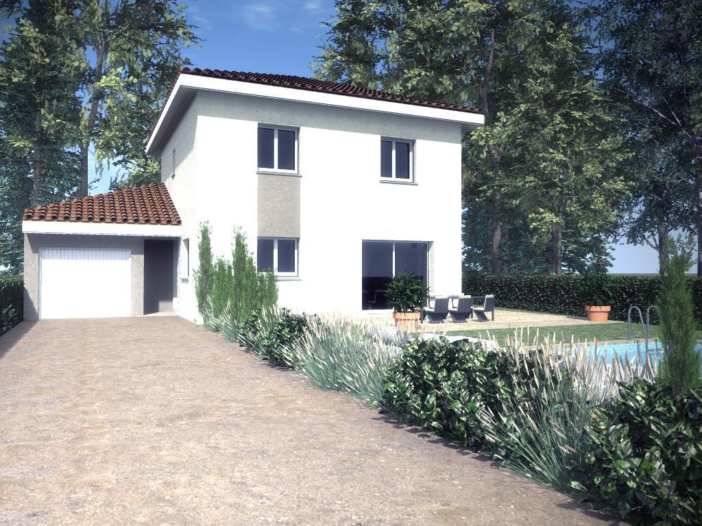 Maisons du constructeur TRADYBEL RHONE • 101 m² • SAINT LAURENT DE MURE