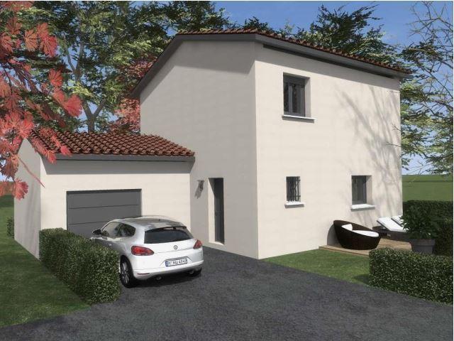 Maisons du constructeur TRADYBEL RHONE • 103 m² • BELLEVILLE