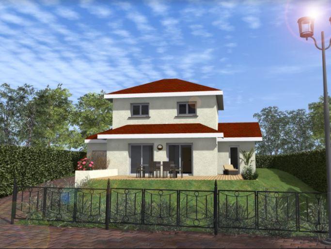 Maisons du constructeur TRADYBEL RHONE • 91 m² • LAGNIEU