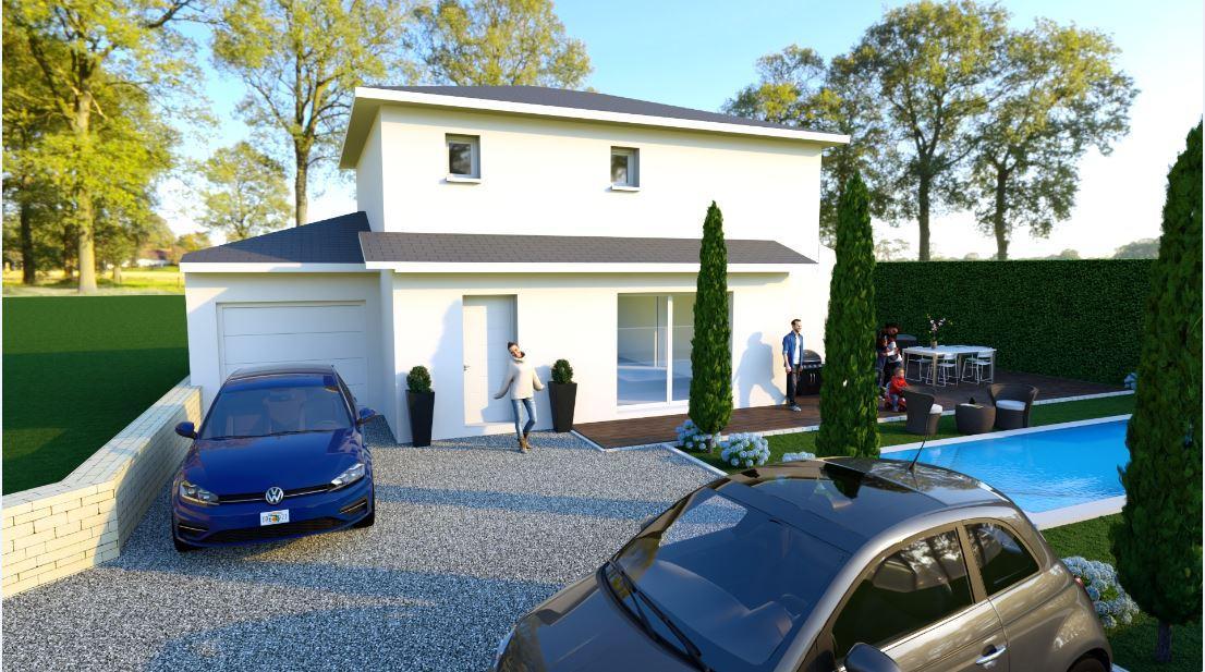 Maisons du constructeur TRADYBEL RHONE • 110 m² • SAINT BONNET DE MURE