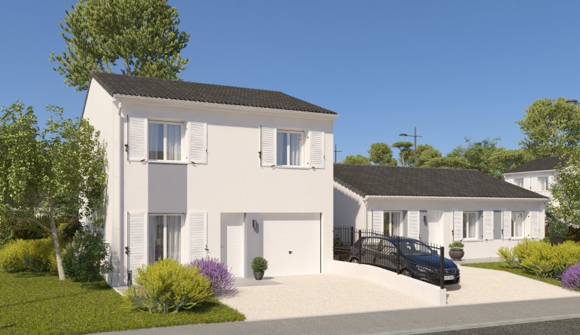 Maisons du constructeur MAISONS PIERRE AMIENS • 87 m² • GRIVESNES