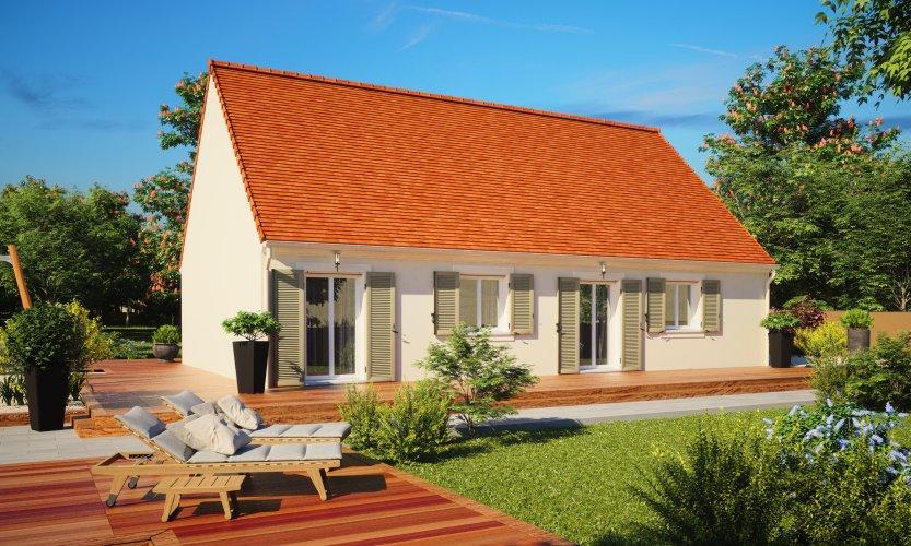 Maisons du constructeur MAISONS PIERRE SENS • 89 m² • SERGINES