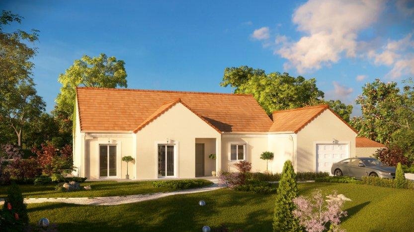 Maisons du constructeur MAISONS PIERRE SENS • 103 m² • MONETEAU