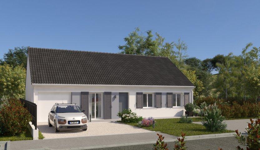 Maisons du constructeur MAISONS PIERRE CHARTRES • 90 m² • CHARTRES