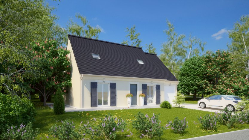 Maisons du constructeur MAISONS PIERRE CHARTRES • 101 m² • CHARTRES