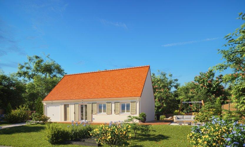 Maisons du constructeur MAISONS PIERRE CHARTRES • 89 m² • NOGENT LE ROTROU