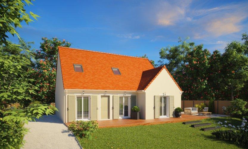 Maisons du constructeur MAISONS PIERRE CHARTRES • 124 m² • BERCHERES SAINT GERMAIN