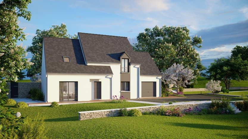 Maisons du constructeur MAISONS PIERRE • 139 m² • OLIVET