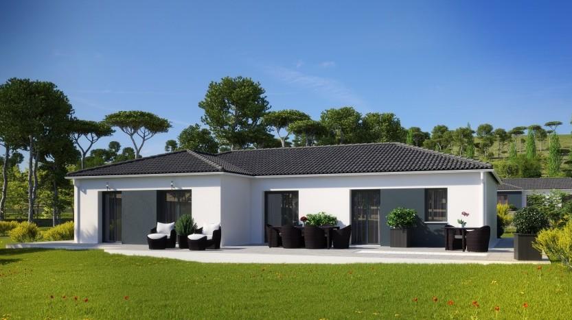 Maisons du constructeur MAISONS PIERRE LA ROCHE SUR YON • 112 m² • BEAULIEU SOUS LA ROCHE