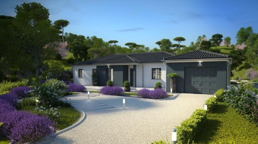 Maisons du constructeur MAISONS PIERRE LA ROCHE SUR YON • 132 m² • TREIZE SEPTIERS
