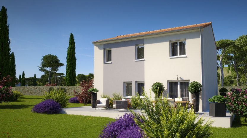 Maisons du constructeur MAISONS PIERRE LA ROCHE SUR YON • 95 m² • LA ROCHE SUR YON