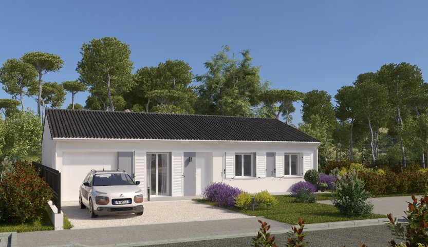 Maisons du constructeur MAISONS PIERRE LA ROCHE SUR YON • 90 m² • DOMPIERRE SUR YON