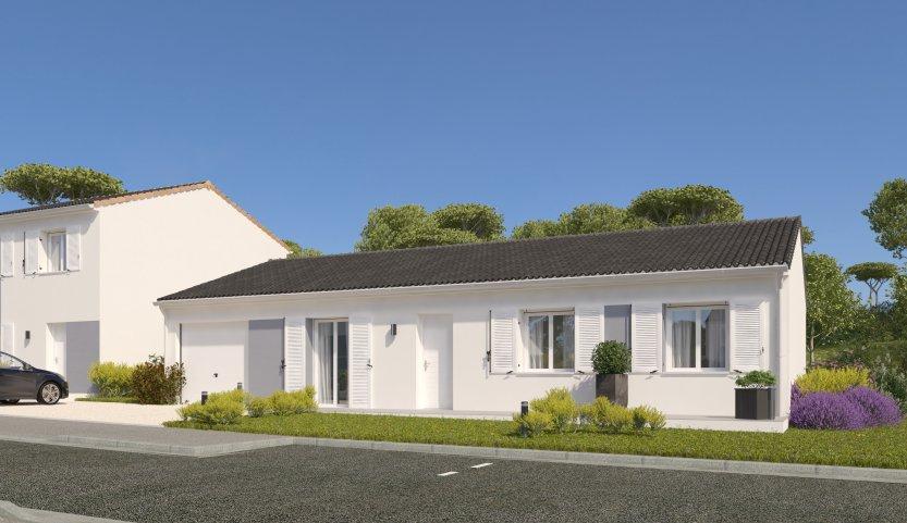 Maisons du constructeur MAISONS PIERRE LA ROCHE SUR YON • 99 m² • DOMPIERRE SUR YON