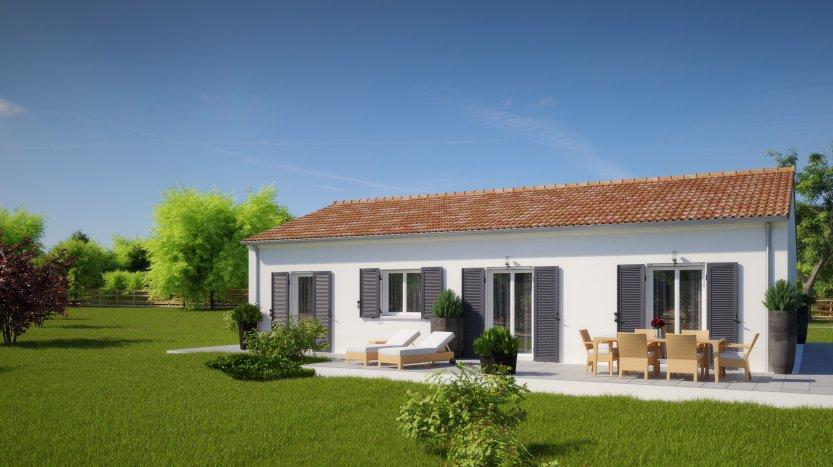 Maisons du constructeur MAISONS PIERRE LA ROCHE SUR YON • 93 m² • DOMPIERRE SUR YON