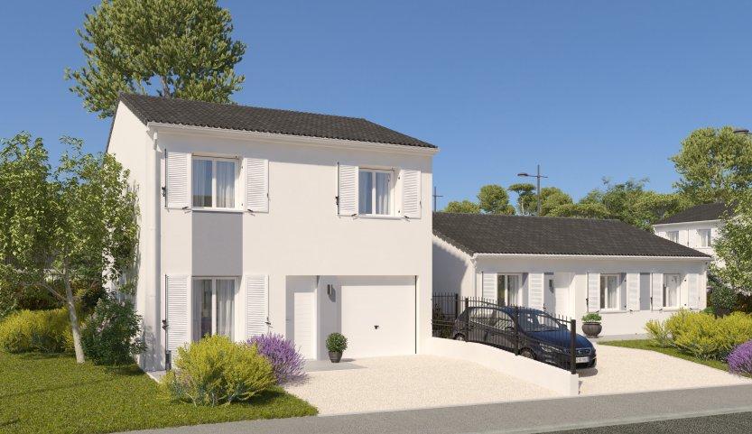Maisons du constructeur MAISONS PIERRE LA ROCHE SUR YON • 87 m² • LES ESSARTS