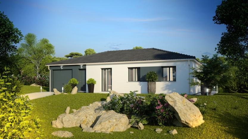 Maisons du constructeur MAISONS PIERRE LA ROCHE SUR YON • 89 m² • L'AIGUILLON SUR VIE