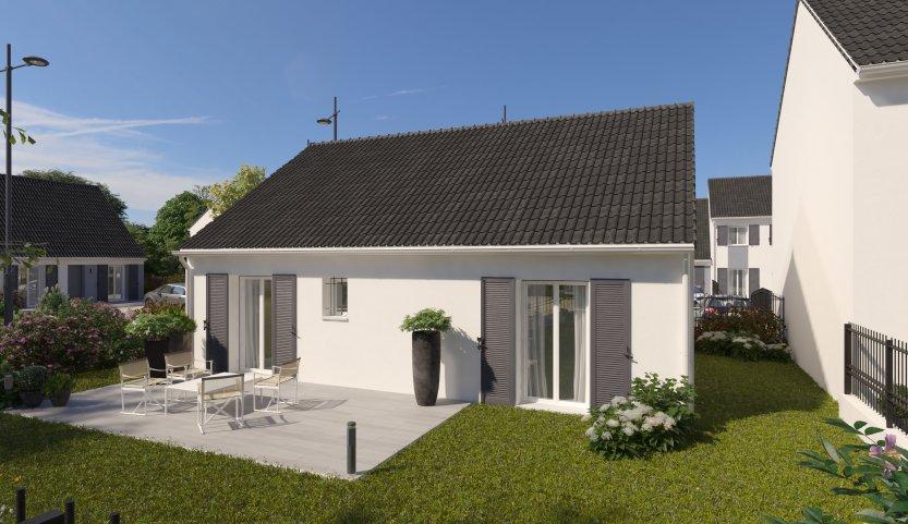 Maisons du constructeur MAISONS PIERRE NANTES SUD • 76 m² • TREILLIERES