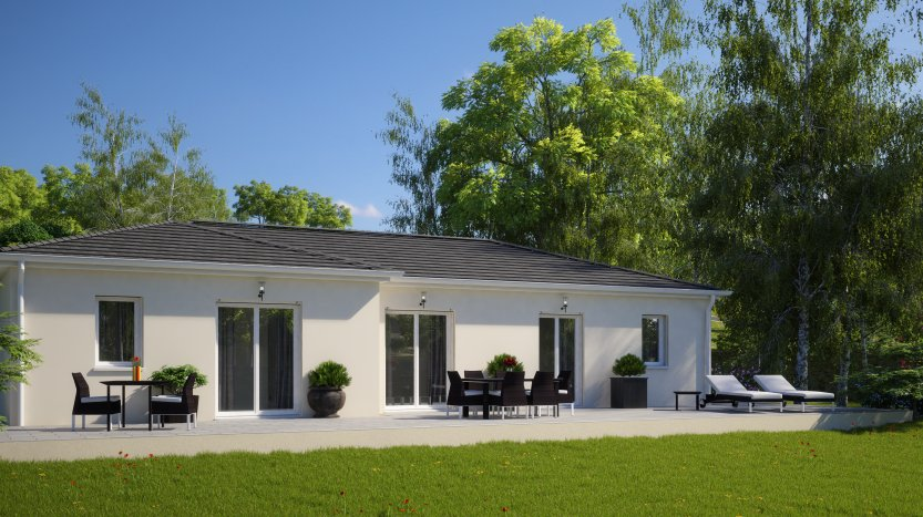 Maisons du constructeur MAISONS PIERRE NANTES SUD • 99 m² • LA CHEVROLIERE