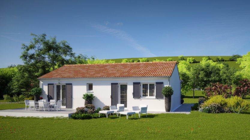 Maisons du constructeur MAISONS PIERRE NANTES SUD • 79 m² • VERTOU