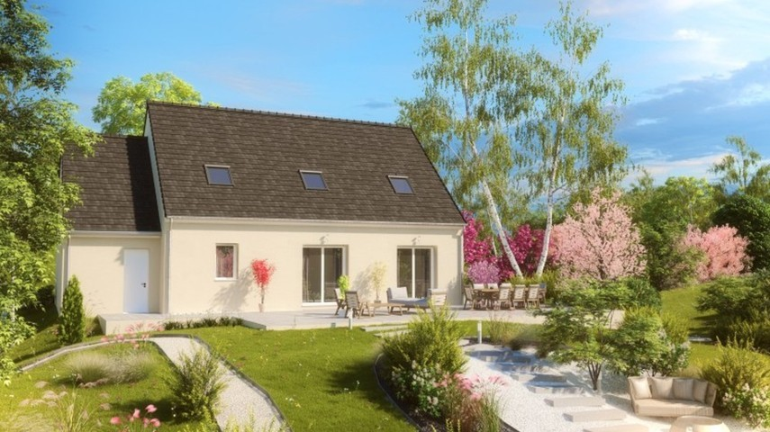 Maisons du constructeur MAISONS PIERRE NANTES SUD • 136 m² • SAINTE LUCE SUR LOIRE