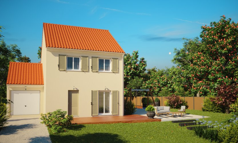 Maisons du constructeur MAISONS PIERRE NANTES SUD • 104 m² • CARQUEFOU