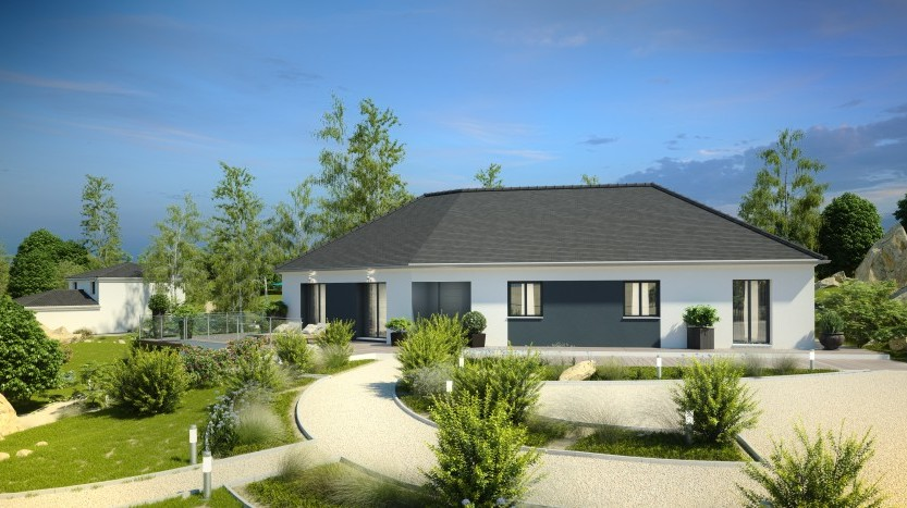 Maisons du constructeur MAISONS PIERRE NANTES SUD • 136 m² • TREILLIERES
