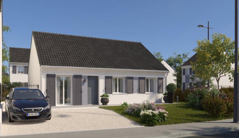 Maisons du constructeur MAISONS PIERRE NANTES SUD • 76 m² • NORT SUR ERDRE