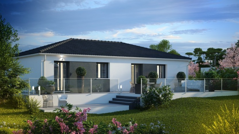 Maisons du constructeur MAISONS PIERRE • 89 m² • LA REMAUDIERE