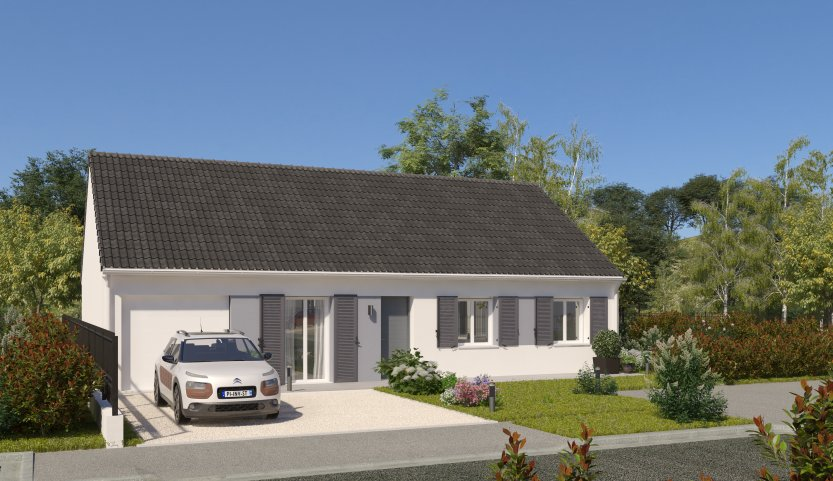 Maisons du constructeur MAISONS PIERRE • 90 m² • GUENROUET