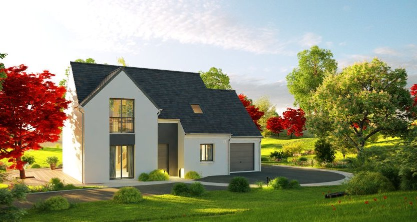 Maisons du constructeur MAISONS PIERRE • 110 m² • BALLAN MIRE