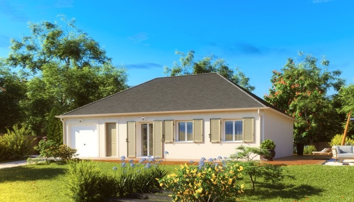 Maisons du constructeur MAISONS PIERRE • 89 m² • LA VILLE AUX DAMES