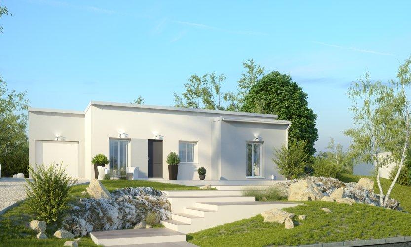 Maisons du constructeur MAISONS PIERRE • 86 m² • VEIGNE