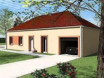 Maisons du constructeur MAISONS LENAC • 90 m² • SAINT LEGER VAUBAN