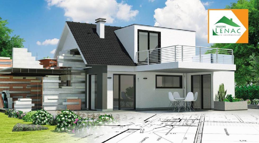 Maisons du constructeur MAISONS LENAC • 135 m² • ROSOY