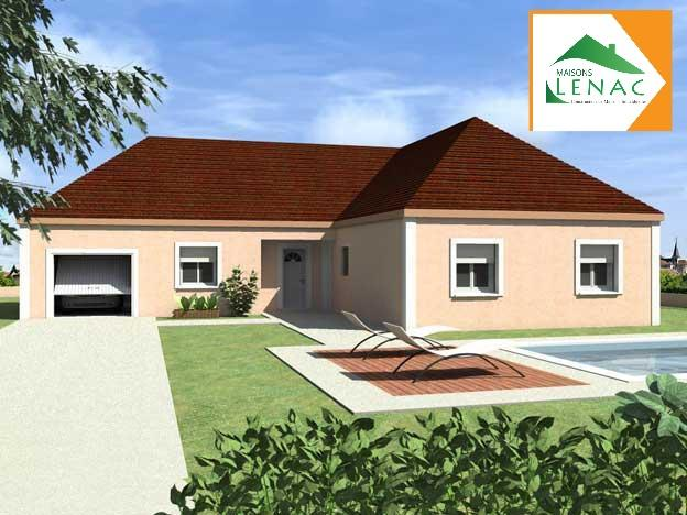 Maisons du constructeur MAISONS LENAC • 109 m² • EPINEAU LES VOVES