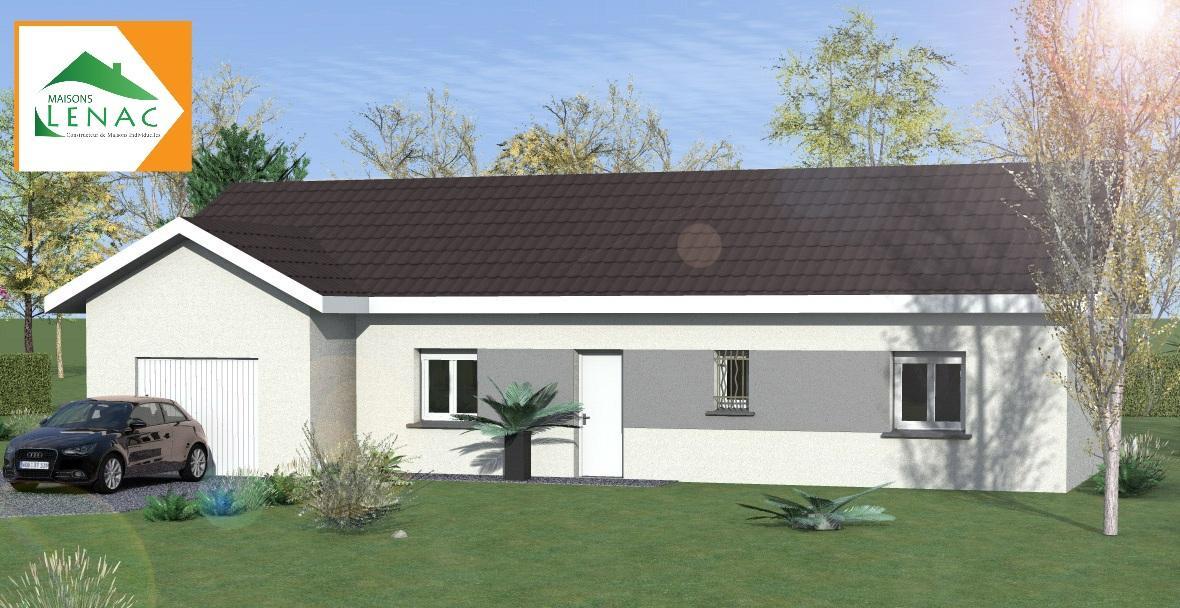 Maisons du constructeur MAISONS LENAC • 110 m² • SAINT FLORENTIN