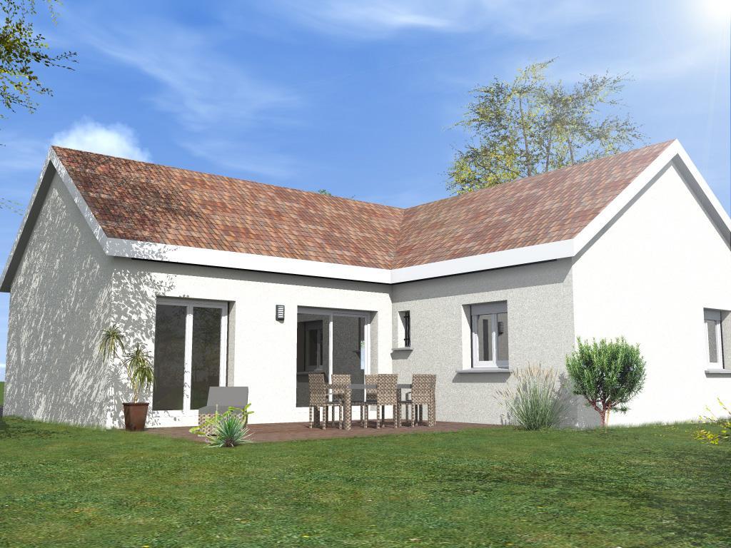 Maisons du constructeur MAISONS LENAC • 100 m² • CHAMPVALLON