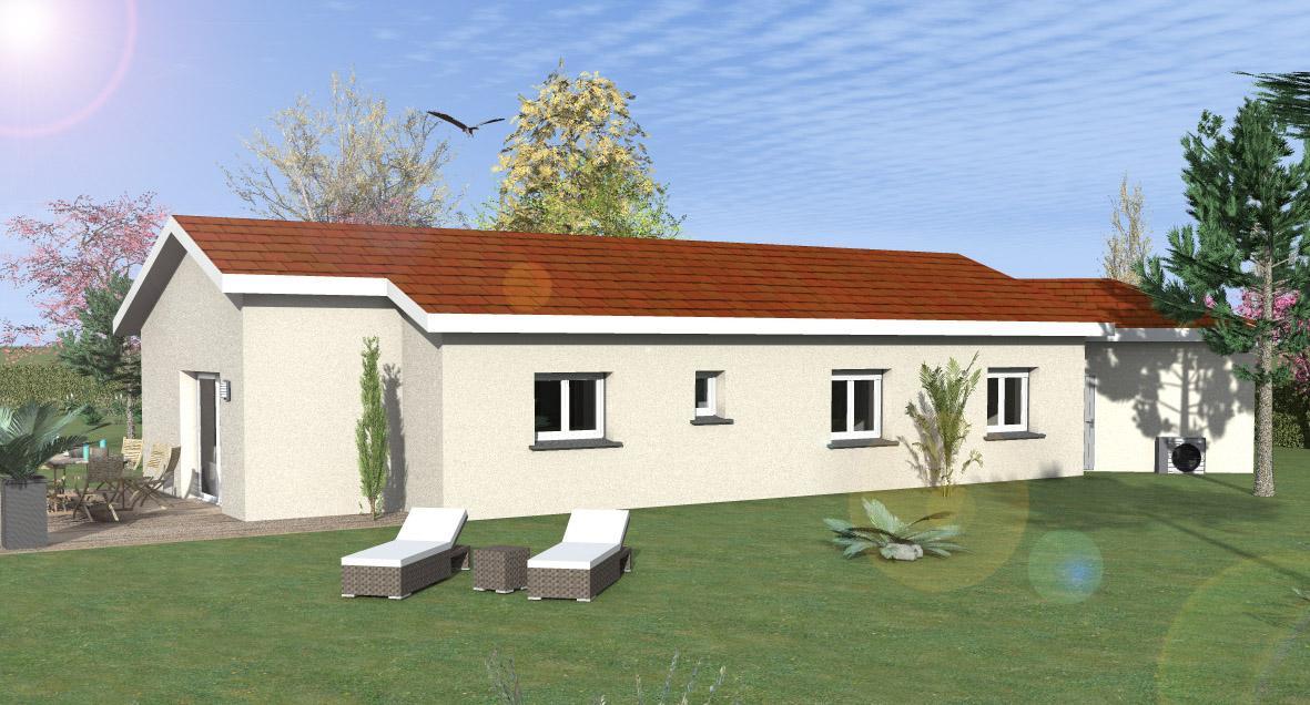 Maisons du constructeur MAISONS LENAC • 127 m² • VILLECHETIVE