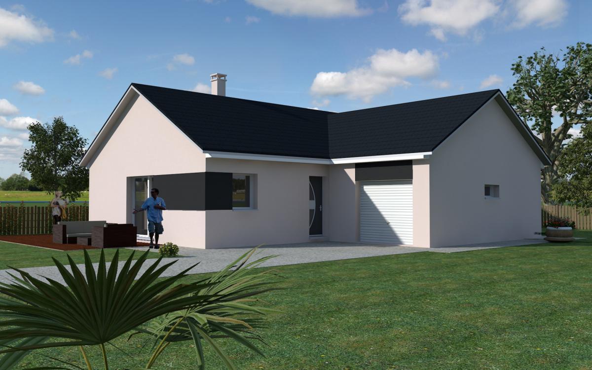 Maisons du constructeur TRADICONFORT 89 • 91 m² • VAUX