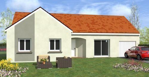 Maisons du constructeur TRADICONFORT 89 • 102 m² • LA CHAPELLE SUR OREUSE