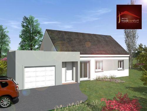 Maisons du constructeur TRADICONFORT 89 • 96 m² • CHEVANNES