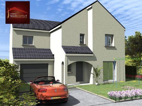 Maisons du constructeur TRADICONFORT 89 • 120 m² • BRIENON SUR ARMANCON